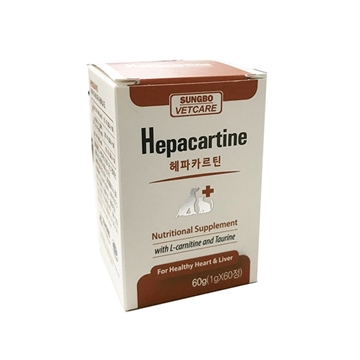 Picture of SUNGBO Hepacartine 60 Tablets