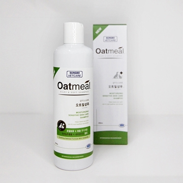 Picture of SUNGBO Oatmeal Silky & Soft Shampoo 250ml