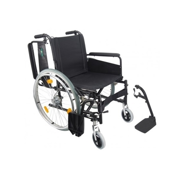 Picture of TopOne Foldable Aluminum Transit Wheelchair FHW-11