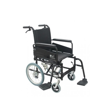 Picture of TopOne Foldable Aluminum Transit Wheelchair FHW-13