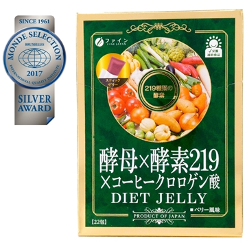 Picture of Fine Japan Yeast x Enzyme x Coffee Chlorogenic Acid Diet Jelly 22 packs