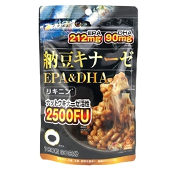 Fine Japan 纳豆激酶 + EPA&DHA软胶囊 120粒