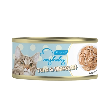 Picture of MyBaby Cat Canned Food-Tuna & Whitebait 85g