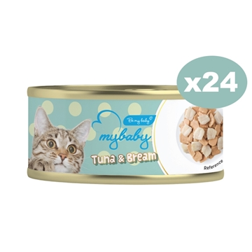 Picture of MyBaby Cat Canned Food-Tuna & Bream 85g