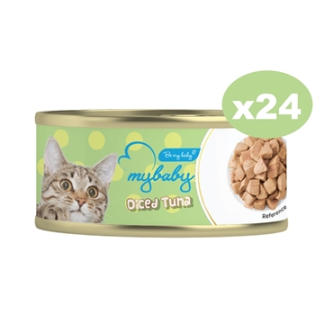 Picture of MyBaby Cat Canned Food-Diced Tuna 85g