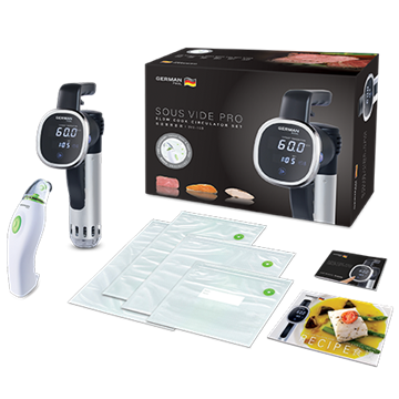 Picture of German Pool SOUS VIDE PRO Slow Cook Circulator Set SVC-108