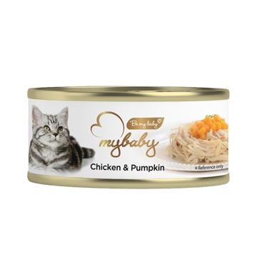 Picture of MyBaby Cat Canned Food - Chicken & Pumpkin 85g