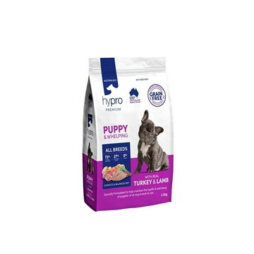 Picture of Australia Hypro Premium Turkey & Lamb Dog Food - Puppy 2.5kg