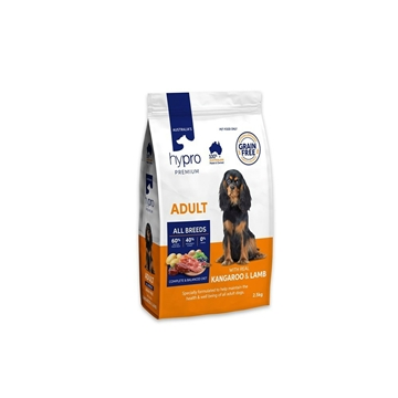 Picture of Australia Hypro Premium Kangaroo & Lamb Dog Food - Adult 2.5kg