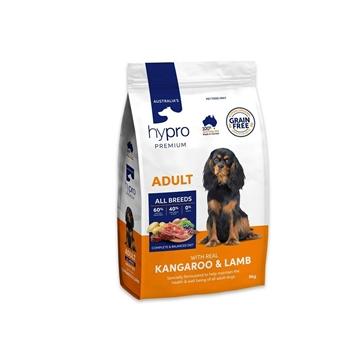 Picture of Australia Hypro Premium Kangaroo & Lamb Dog Food - Adult 9kg