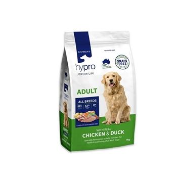 Picture of Australia Hypro Premium Chicken & Duck Dog Food - Adult 9kg