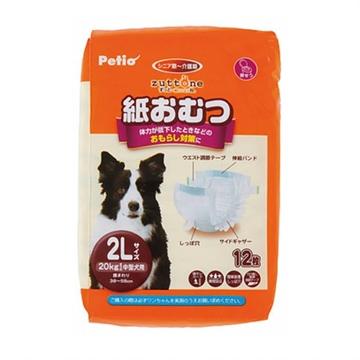 圖片 PETIO Zuttone 高齡犬護理專用包圍式紙尿片 (圓點尿褲可用)