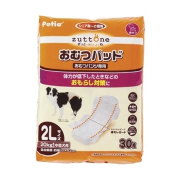圖片 PETIO Zuttone 黏貼式尿片 高齡犬護理(背帶尿褲專用)