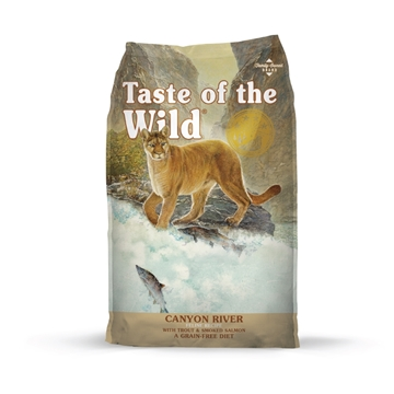 Picture of Taste of the Wild Canyon River Feline® Formula with Trout & Smoked Salmon