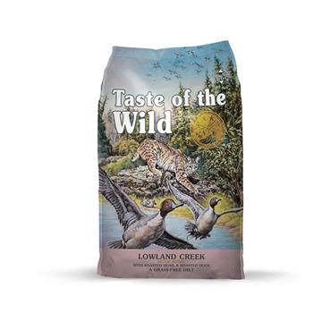 Picture of Taste of the Wild Lowland Creek Feline® Recipe with Roasted Quail & Roasted Duck