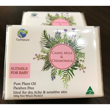 Picture of TasNature Camel Milk & Chamomile Soap