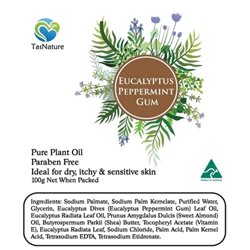 Picture of TasNature Eucalyptus Peppermint Gum Soap