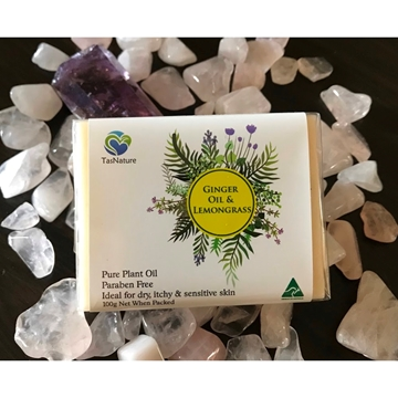 Picture of TasNature Ginger Oil & Lemon Grass Soap