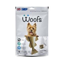 Woofs 英国狗狗鳕鱼粒粒100g
