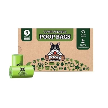 Picture of Pogi's Pet Supplies Poop Bags - Powder Fresh Scent / Unscented