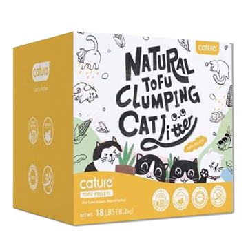 Picture of Cature Natural Tofu Clumping Cat Litter 8.2 kg