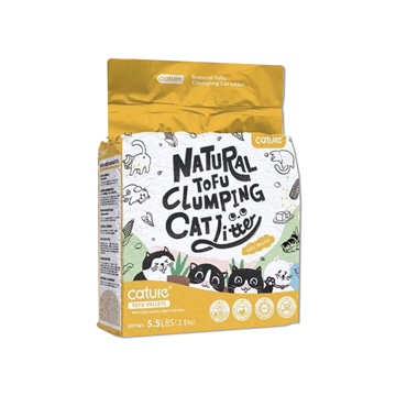 Picture of Cature Natural Tofu Clumping Cat Litter 2.5 kg