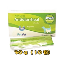 PetVet PV-D Natural Antidiarrhea Powder For Dog & Cat 30g (10pack)