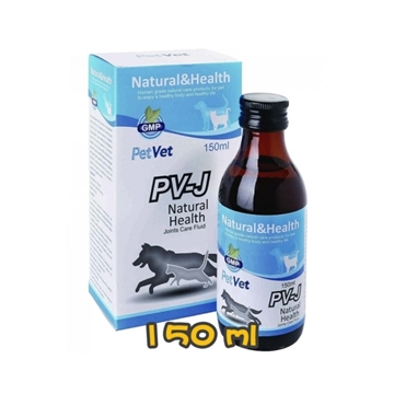Picture of PetVet PV-J Joint Care Fluid for Dog & Cat 150ml