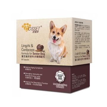 Picture of COSSET Lingzhi & Cordyceps Formula for Senior Dog
