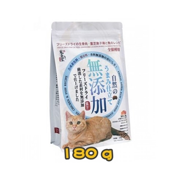Picture of PETGREEN Freeze Dried Raw Cat Food Ganoderma Lucidum Spores Chicken & Fish Receipe 180g