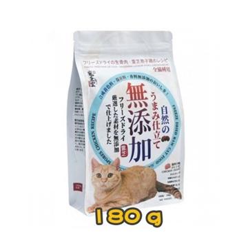 图片 PETGREEN宠康灵 AAFCO 主食粮冻干生骨肉破壁灵芝胞子鸡肉味配方猫粮 180g
