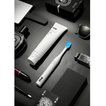 图片 E:flash 韩国制造ME Set 美白牙齿蓝光LED牙刷套装[原装行货]