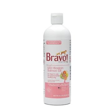 图片 Bravo 野生阿拉斯加三文鱼油 488ml