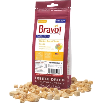 Picture of Bravo Healthy Bites Chicken Breast Treats For Cats 43g