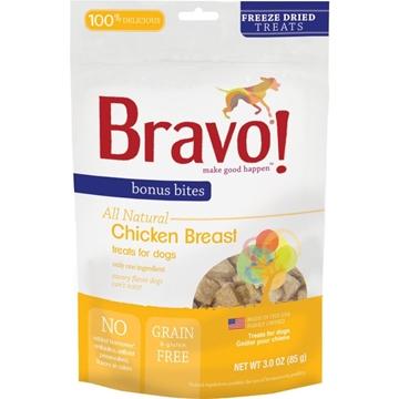 圖片 Bravo 脫水走地雞胸粒 (天然、沒有注射激素及賀爾蒙) 85g
