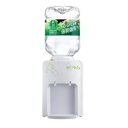 屈臣氏 家居水機 - Wats-MiniS 座檯式溫熱水機 + 8L蒸餾水 x 12樽 (電子水券)