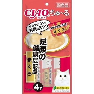 图片 CIAO 足腰健康配方吞拿鱼酱 (4条装) 14g