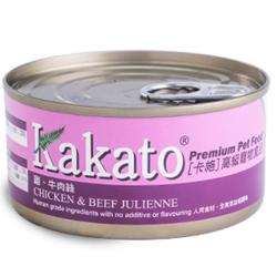 Kakato Chicken & Beef Julienne 70g/170g