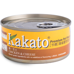 Kakato Chicken and Cheese 70g/170g