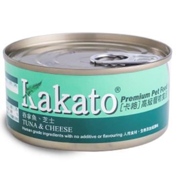 图片 Kakato 吞拿鱼及芝士猫狗罐头 70g/170g