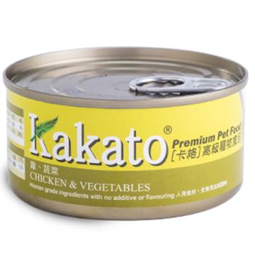 图片 Kakato 鸡肉及蔬菜猫狗罐头 170g