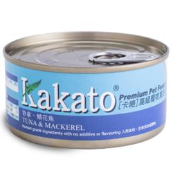 Kakato 吞拿魚及鯖花魚貓狗罐頭 70g/170g