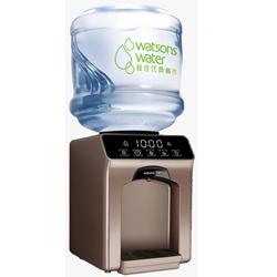 屈臣氏家居水机- Wats-Touch Mini 温热水机+ 12公升家庭装蒸馏水x 36樽(电子水券)