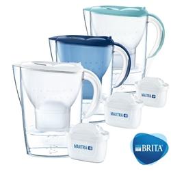 BRITA Marella COOL 2.4L 濾水壺 白色 / 藍色 / 粉藍色