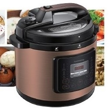 Picture of Thomson 1000W 6L Multifunctional Pressure Cooker TM-DPC06B / TM-DPCP06G Black / Gold