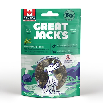 Picture of Great Jack's Grain Free Liver & Kelp Recipe For Dogs 56g