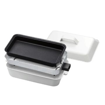 圖片 正負零 XKH-E010 多功能料理鍋 白色 黑色