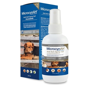 Picture of MicrocynAH Anti-Itch Spray Gel 120ml