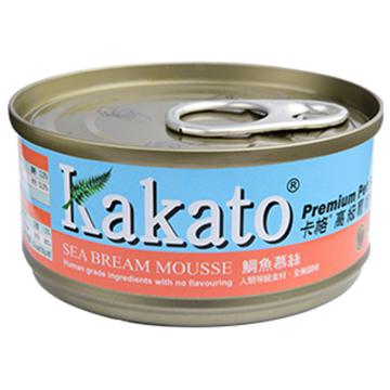 圖片 Kakato 鯛魚慕絲貓狗罐頭 70g