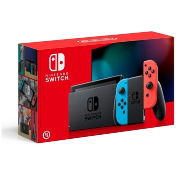 Picture of Nintendo Switch console red and blue